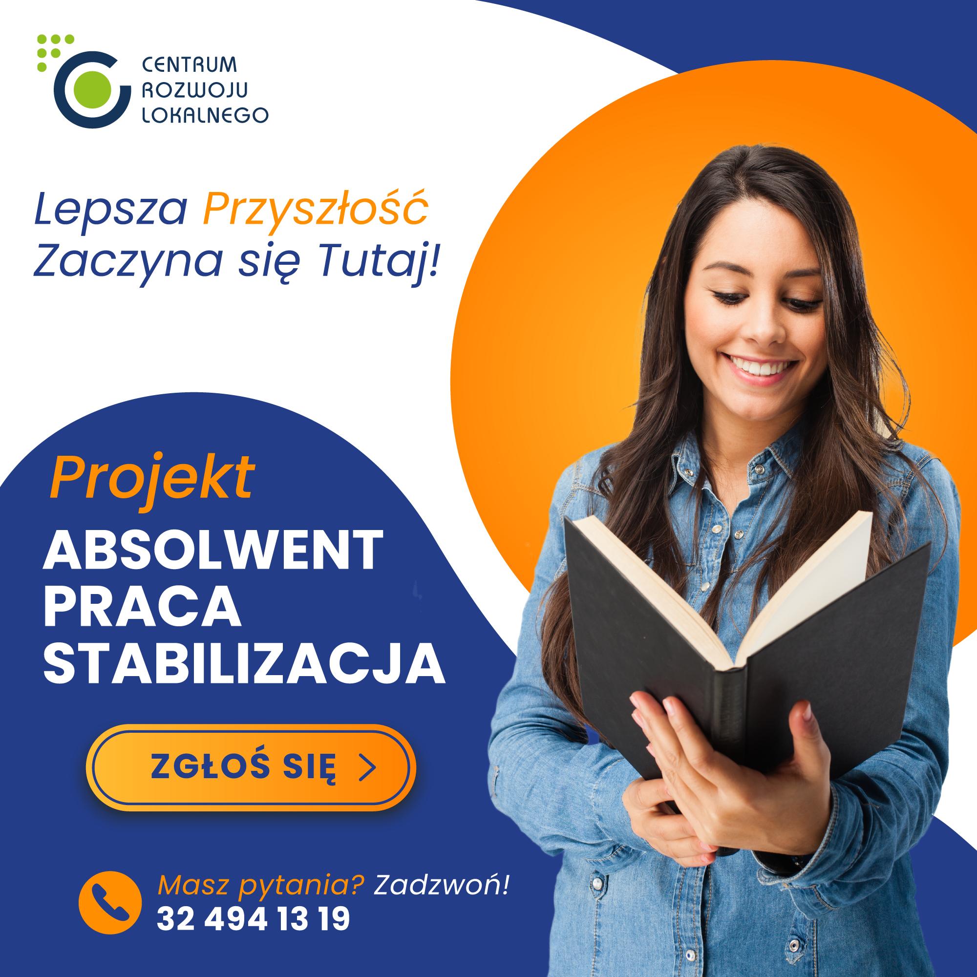 """Projekt """"Absolwent-Praca-Stabilizacja"""
