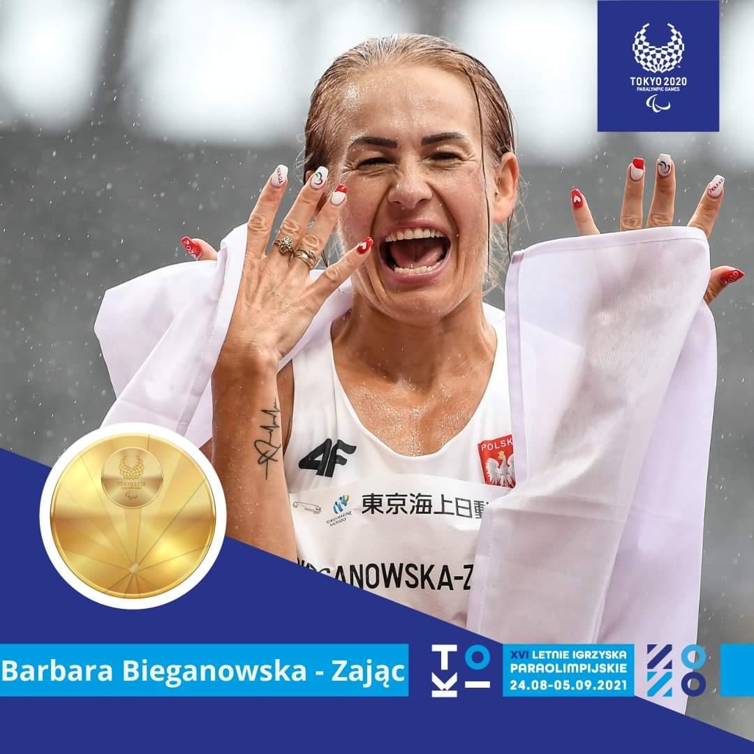 Barbara Bieganowska-Zajc ze zBotym medalem!