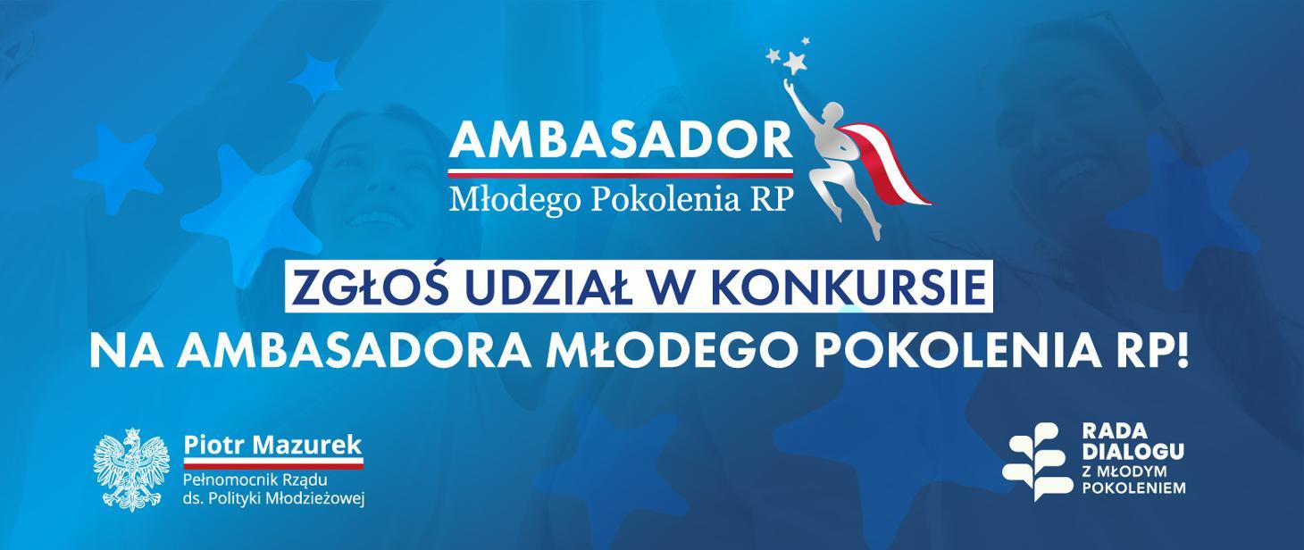 "Konkurs ""Ambasador MBodego Pokolenia RP"