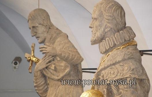 IWojewódzki Konserwator ocenił odrestaurowane rzeźb