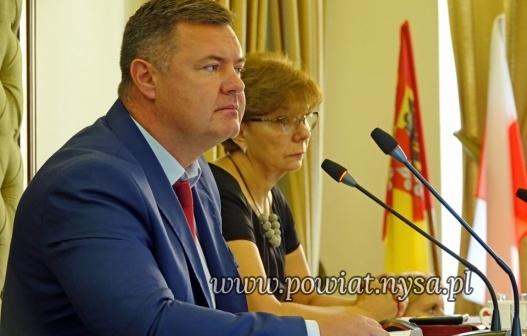 IIX sesja Rady Powiatu 12.08.2019