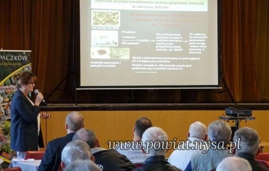 IKonferencja pszczelarska - rozmowy o zdrowiu pszczół 20 X