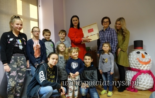 ISłodka wizyta u podopiecznych domów dziecka