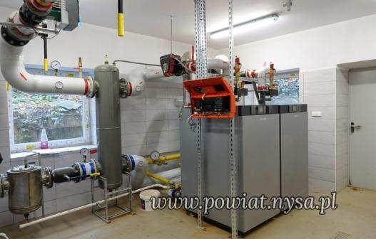 IPrace przy budowie nowej kotłowni gazowej SP ZOZ ZOZ w Głuchołazach