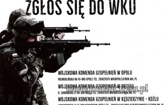 ITrwa nabór do batalionu Wojsk Obrony Terytorialnej