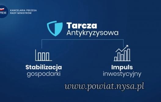 IPakiet dot. tarczy antykryzysowej wszedł w życie