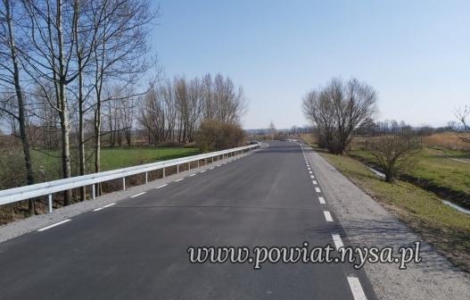 IDroga Wyszków Śląski-Konradowa otwarta po przebudowie
