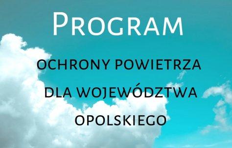 Program ochrony powietrza dla województwa opolskiego