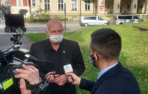 O sytuacji epidemiologicznej w powiecie nyskim w Polsat News