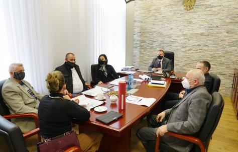 """Spotkanie w sprawie """"Aleksandrówki"""""""