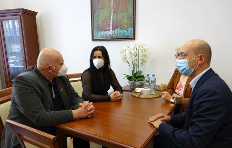 Spotkanie z przedstawicielami Morowa
