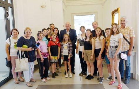 Wizyta mBodzie|y z Doliny na Ukrainie