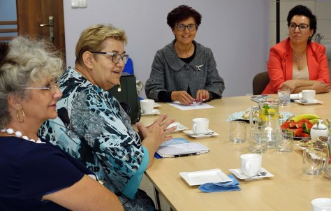 Wizyta peBnomocnika ds. polityki senioralnej